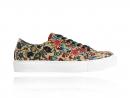 Sand Flower Sneakers, Zand, Bloem, Sneakers, Lureaux, Kleurrijk, Schoenen, Print, Beige