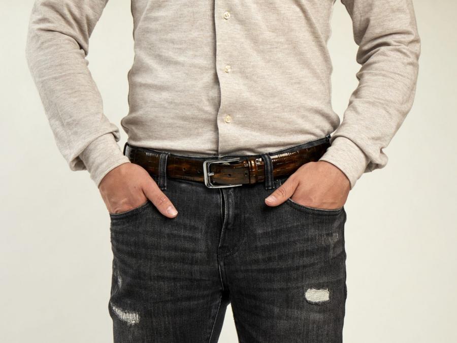 Bronzer Croco - Belt
