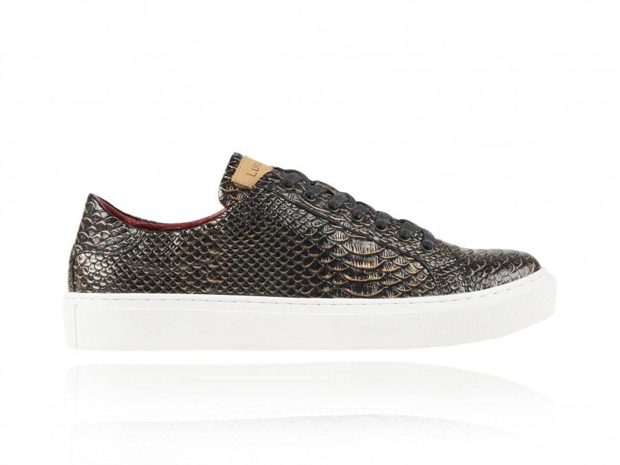 Mamba   Slangenhuid Sneakers   Lureaux