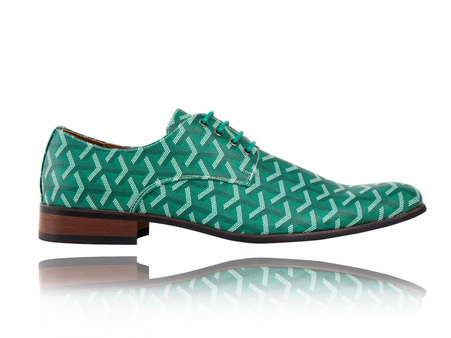 3D Green   Groene Herenschoenen   Lureaux