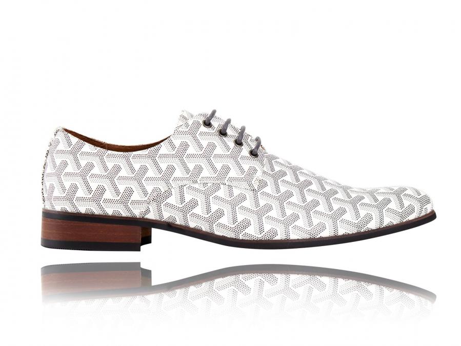 3D White | Witte Herenschoenen | Lureaux